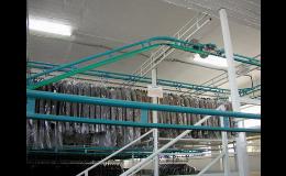 Production, assembly of conveyor systems, belt conveyors Czech Republic