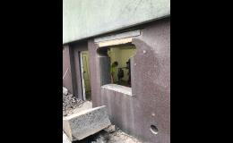 Vyřezávání otvorů pro okna a dveře - Havířov