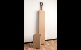 papírový tubus - snadná přeprava a manipulace