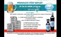 Potravinářský plyn pro výčep nápojů – nová moderní technologie