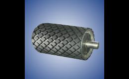 Produzione di cilindri gommati, scanalati cilindri di gomma con una vasta gamma di vantaggi