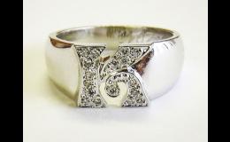 Prsten K na zakázku