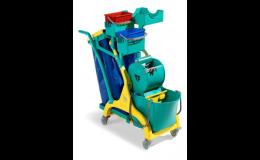 Úklid - jednoduché i velkokapacitní vozíky