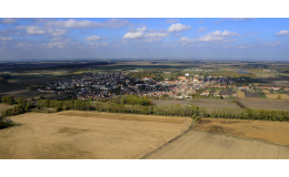 Město Hrušovany nad Jevišovkou s mnoha historickými památkami