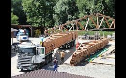 STREKON A-Z, s.r.o., Brno – venkov, dřevěné příhradové vazníky se styčníkovými deskami