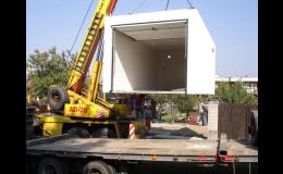 Monolitické garáže - možnost okamžitého využívání