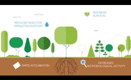 Pôdny kondicionér pre výsadbu stromov a kríkov a zlepšenie ich aklimatizácie po zasadení, Česká republika