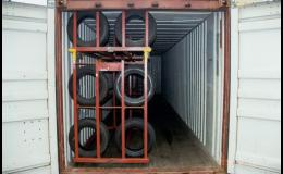 Skladovací místa v námořních kontejnerech