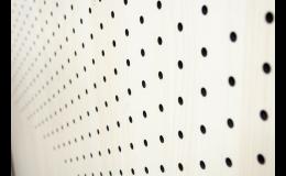 Perforovaná deska s vysokotlakého laminátu HPL
