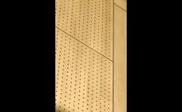 dekorativní perforovaná HPL deska