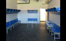 Protihlukové a antivibrační pryžové desky na stadiony