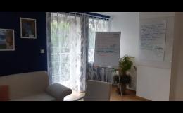 Kancelář kde se koná kurz