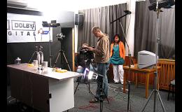 natáčení pořadů