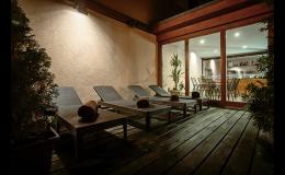 Odpočinková místnost na terase