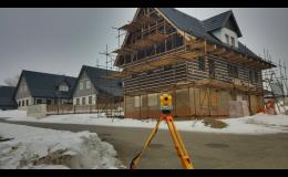 Výstavba poloroubených chalup Vysoké nad Jizerou
