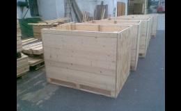 Výroba dřevěných překližkových beden