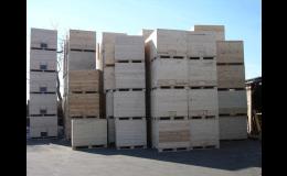Dřevěné bedny na zemědělskou prvovýrobu