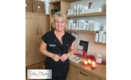 kosmetické ošetření pleti kosmetikou Thalac - Zlín