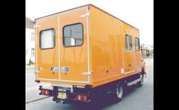Skříňová nástavba – mobilní pojízdná dílna