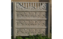 Okrasné betonové ploty na klíč