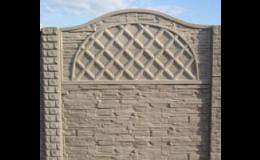 Betonové ploty od českých výrobců