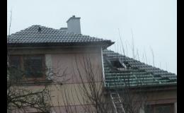 Rekonstrukce, opravy a realizace střech na klíč
