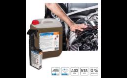 Přípravek na čištění a ochranu motoru