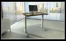 Výškovo nastaviteľné stoly s elektropohonom do výšky stojaceho človeka - Česká republika