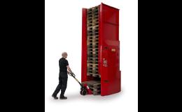 Automatizace ve skladování palet