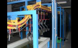 Mořící linky – povrchové úpravy kovů