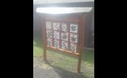 Enviromentální dřevěné prvky na dětská hřiště - dřevěné pexeso