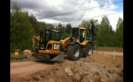 Stavební práce a terénní úpravy