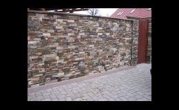 Ploty z přírodního i umělého kamene Frýdek Místek