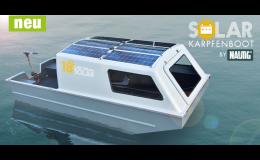 Speciální hliníková  loď se solárním pohonem