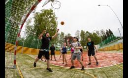Víceúčelové sportovní hřiště Ústí nad Orlicí – hřiště pro všechny s umělým povrchem
