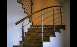 Stavebnicová zábradlí pro balkony, terasy i schodiště