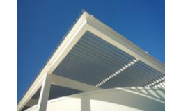 Hliníkové pergoly a markýzy pro zastínění teras, balkonů, výloh