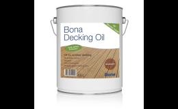 Oleje na dřevěné terasy za výhodné ceny