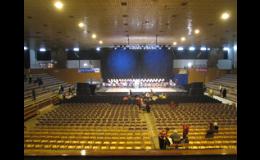 pořádání akcí ve sportovní hale Datart Zlín