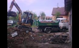 Komplexní služby v oblasti demoličních prací, včetně odvozu suti