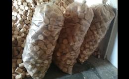 dřevěné brikety z pilin a hoblin - Uherské Hradiště, Veselí nad Moravou