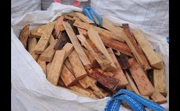 palivové dřevo, odřezky dřeva na topení - Uherské Hradiště, Veselí nad Moravou