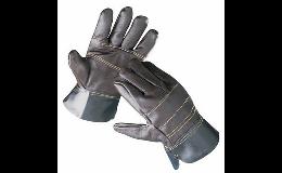 Pracovní celokožené rukavice Chrudim
