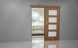 Výroba, predaj lacných interiérových posuvných dverí, posuvky na zákazku Slovensko