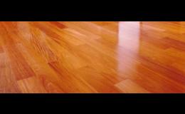 Renovace dřevěné a korkové podlahy