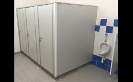 Výroba a prodej sanitárních zástěn a boxů