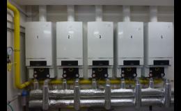 Montáž zařízení pro rozvod plynu