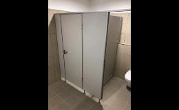 WC příčky HPL