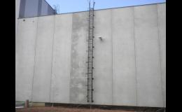 Zámečnická výroba na zakázku - žebříky, konstrukce