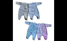 Český výrobce kojeneckého textilu- výroba, prodej